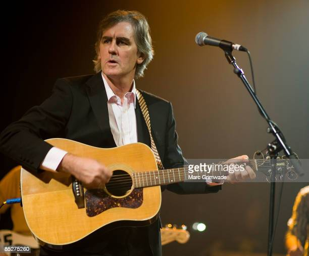 Robert Forster performs at the Fire and Flood benefit show at The Tivoli on March 6 2009 in Brisbane Australia