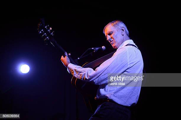 Robert Forster performs on stage at Sala Apolo on January 14 2016 in Barcelona Spain