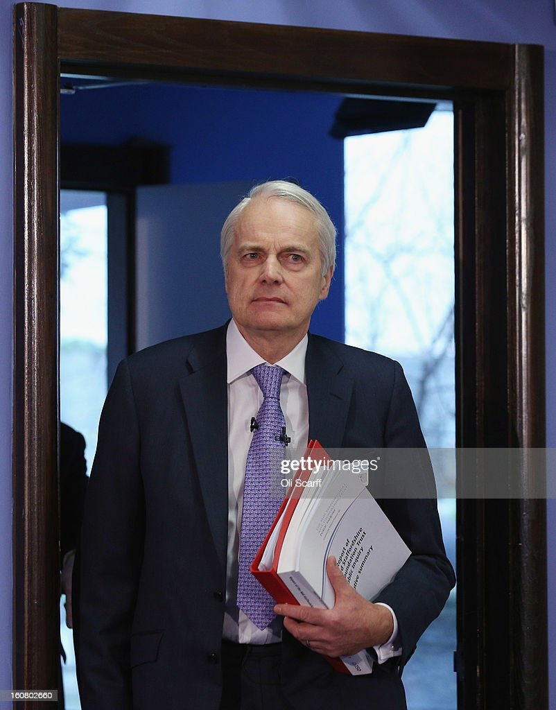 Robert Francis QC arrives to deliver a summary of his report of the Mid Staffordshire NHS Trust Foundation Public Inquiry on February 6, 2013 in London, England. The report examines the commissioning, supervisory and regulatory bodies in the monitoring of Mid Staffordshire hospital between January 2005 and March 2009. The report will be laid before Parliament at 11:30am today and will consider the reasons why serious problems at the Trust were not identified and rectified sooner, and identify lessons to be learnt for future patient care.