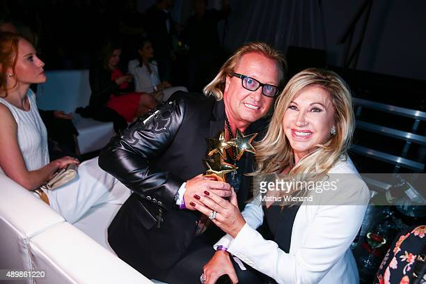 Robert Geiss and Carmen Geiss attend the Icons Idols No 3 event to celebrate the 10th anniversary of InTouch magazine on September 24 2015 in...