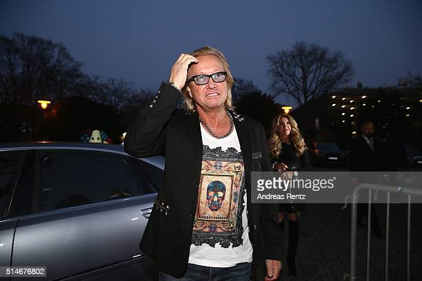 Robert Geiss attends the public launch of a new fragrance 'Roberto Geissini' on March 10 2016 in Cologne Germany