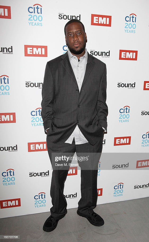 Robert Glasper arrives at the EMI Music Sound Foundation fundraiser at Somerset House on September 24, 2012 in London, England.