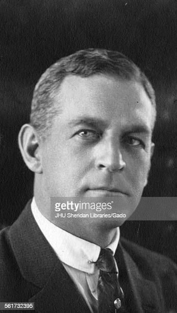 Robert Granville Campbell portrait photograph with signature shoulders up threequarter view c45 years of age 1921
