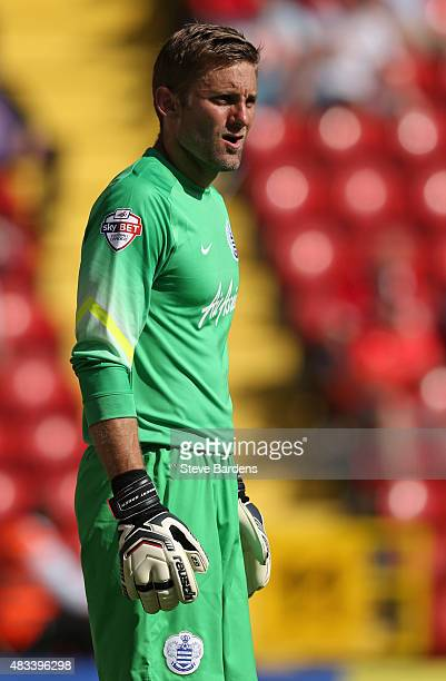 Robert Green of Queens Park Rangers during the Sky Bet Championship match between Charlton Athletic v Queens Park Rangers at The Valley on August 8...
