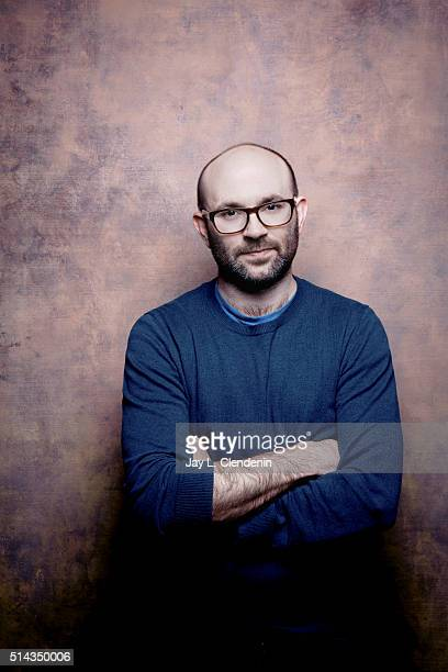 Robert Greene from the film 'Kate Plays Christine' poses for a portrait at the 2016 Sundance Film Festival on January 24 2016 in Park City Utah...
