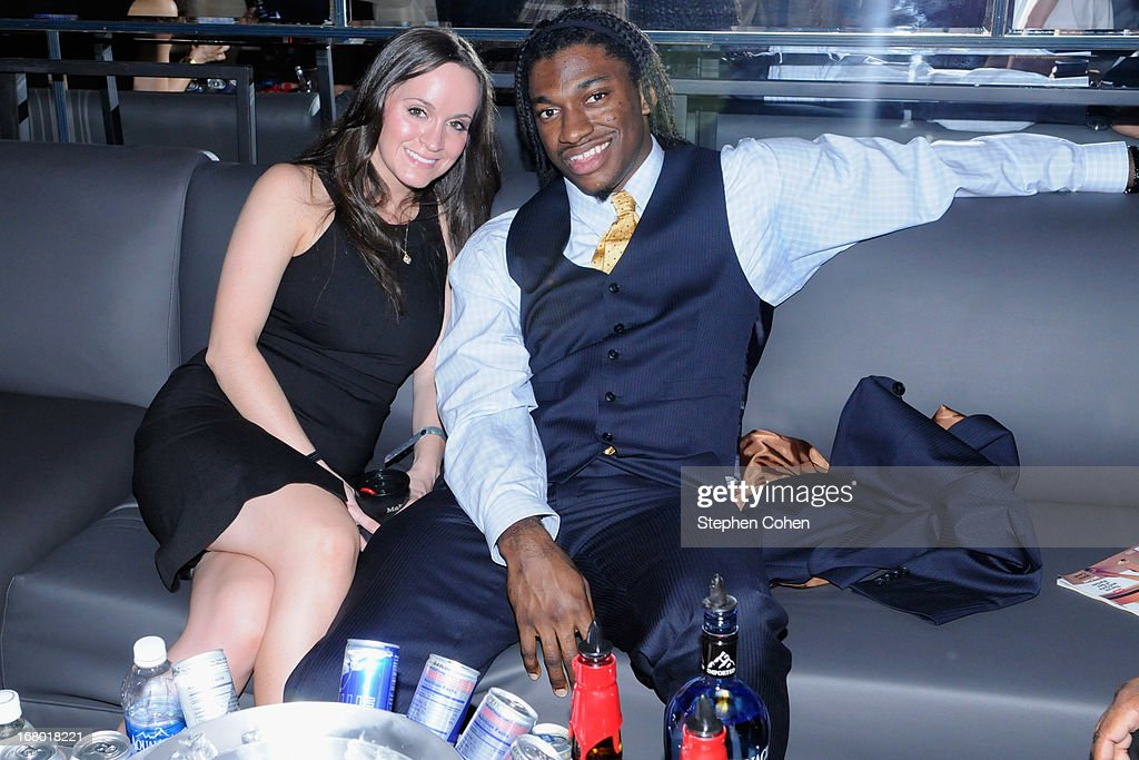 Robert Griffin III attends the Maxim And Maker's 46 Fillies & Stallions Hosted By Blackrock at Mellwood Arts & Entertainment Center on May 3, 2013 in Louisville, Kentucky.