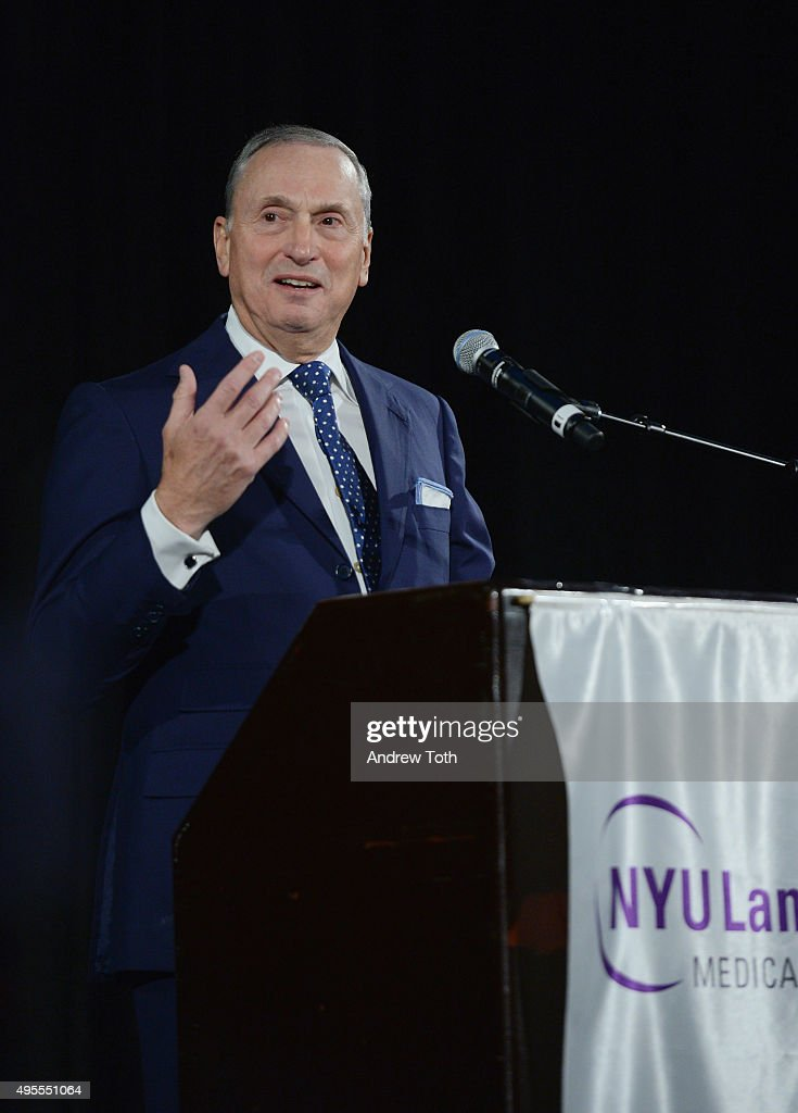 Robert Grossman, MD. speaks onstage during NYU Langone Musculoskeletal Ball 2015 on November 3, 2015 in New York City.