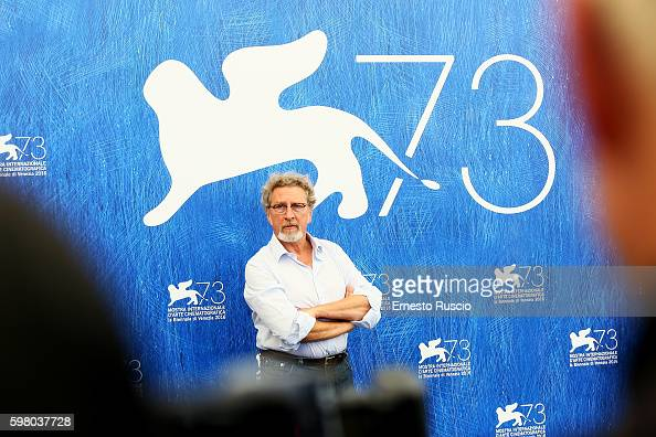 Robert Guediguian attends the photocall of the jury during the 73rd Venice Film Festival on August 31 2016 in Venice Italy