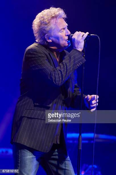 Robert Hart of Manfred Mann's Earthband performs at Admiralspalast on April 20 2017 in Berlin Germany