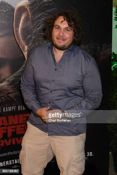 Robert Hofmann attends the 'Planet der Affen' Special Screening in Berlin at Astor Film Lounge on June 23 2017 in Berlin Germany