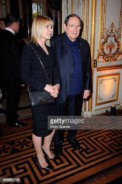 Robert Hossein attends the 'Autistes Sans Frontiere' Charity Gala at Artcurial Dassault on April 16 2015 in Paris France