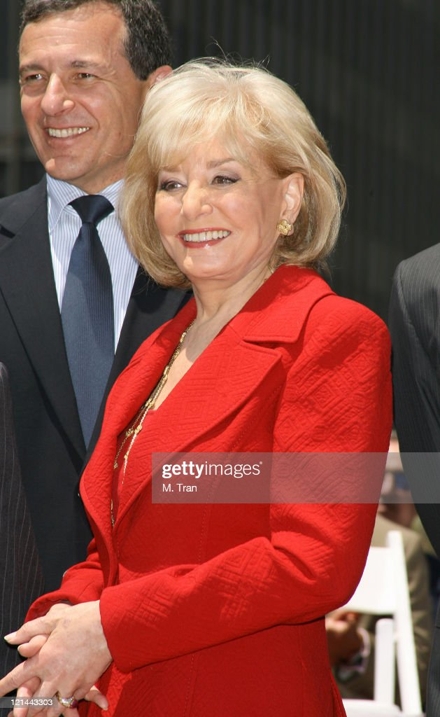 Robert Iger and <a gi-track='captionPersonalityLinkClicked' href=/galleries/search?phrase=Barbara+Walters&family=editorial&specificpeople=201871 ng-click='$event.stopPropagation()'>Barbara Walters</a> during <a gi-track='captionPersonalityLinkClicked' href=/galleries/search?phrase=Barbara+Walters&family=editorial&specificpeople=201871 ng-click='$event.stopPropagation()'>Barbara Walters</a> Honored with a Star on the Hollywood Walk of Fame at 6801 Hollywood Boulevard in front of the Kodak Theatre in Hollywood, California, United States.