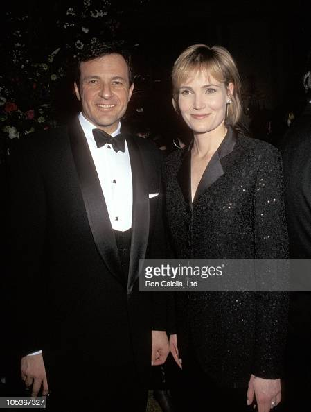 Robert Iger and Willow Bay during 1997 Key To Life Gala at Pierre Hotel in New York City New York United States