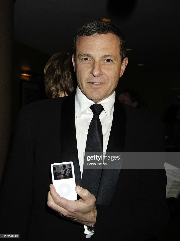 Robert Iger, CEO of The Walt Disney Corporation during Robert Iger Honored by The National Academy at The New York Marriott Marquis Hotel in New York City, New York, United States.
