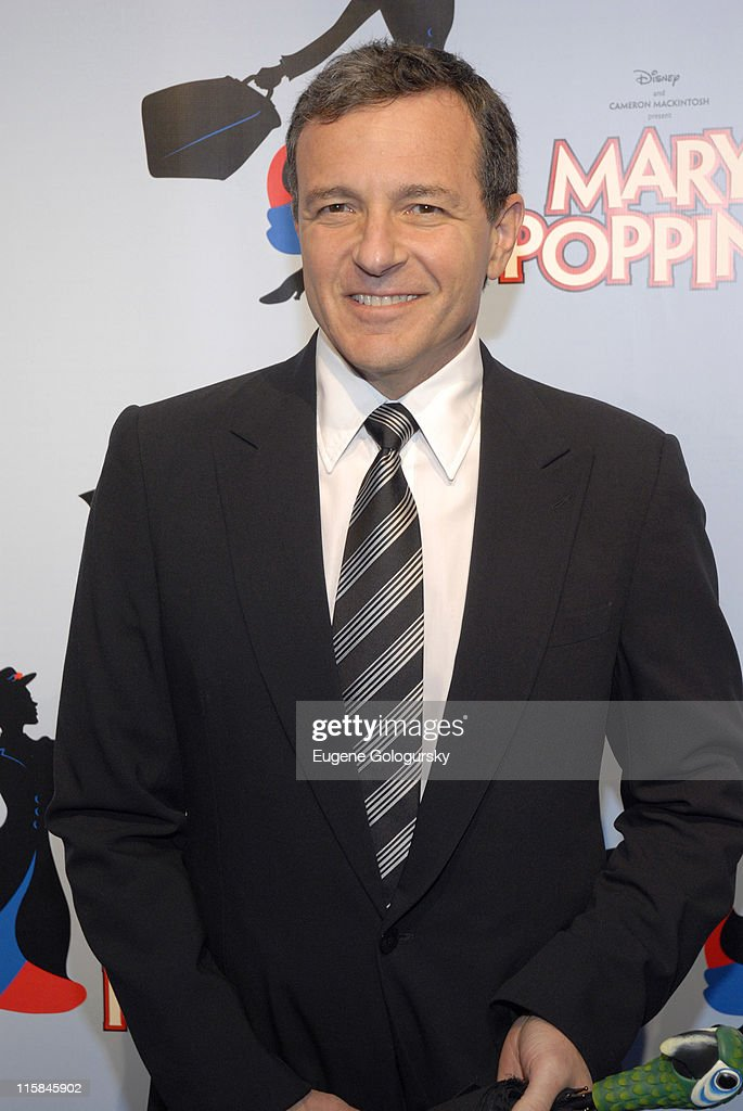Robert Iger during 'Mary Poppins' Broadway Opening Night at the New Amsterdam Theatre - Arrivals - November 16, 2006 at New Amsterdam Theatre in New York City, New York, United States.