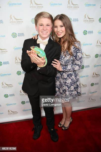 Robert Irwin and Bindi Irwin attend the Steve Irwin Gala Dinner at the SLS Hotel at Beverly Hills on May 13 2017 in Los Angeles California