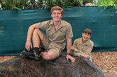 Robert Irwin Celebrates 17th Birthday At Australia Zoo