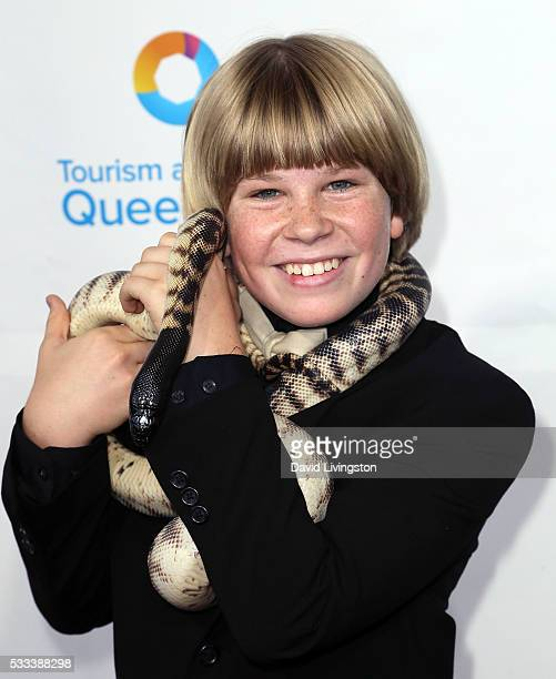 Robert Irwin attends the Steve Irwin Gala Dinner at JW Marriott Los Angeles at LA LIVE on May 21 2016 in Los Angeles California