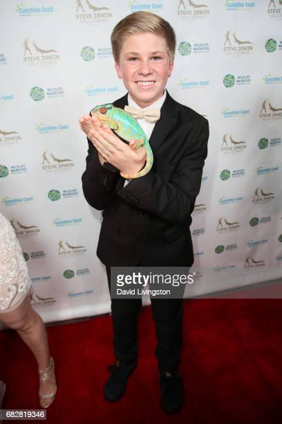 Robert Irwin attends the Steve Irwin Gala Dinner at the SLS Hotel at Beverly Hills on May 13 2017 in Los Angeles California