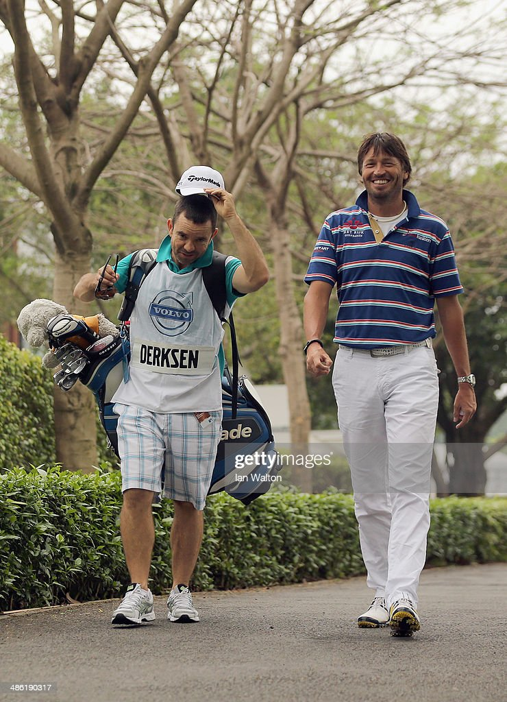 Robert Jan Derksen of The Netherlands during the ProAm of the 2014 Volvo China Open at Genzon Golf Club on April 23 2014 in Shenzhen China