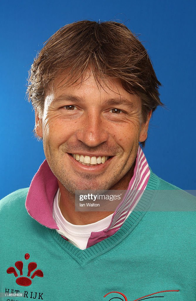Robert Jan Derksen of The Netherlands poses for a portrait during the ProAm round prior to the BMW PGA Championship at Wentworth Club on May 25 2011...