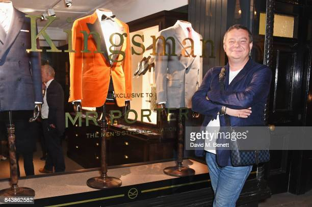 Robert Johnston attends the launch of the 'Kingsman' shop on St James's Street in partnership with MR PORTER MARV Twentieth Century Fox in...