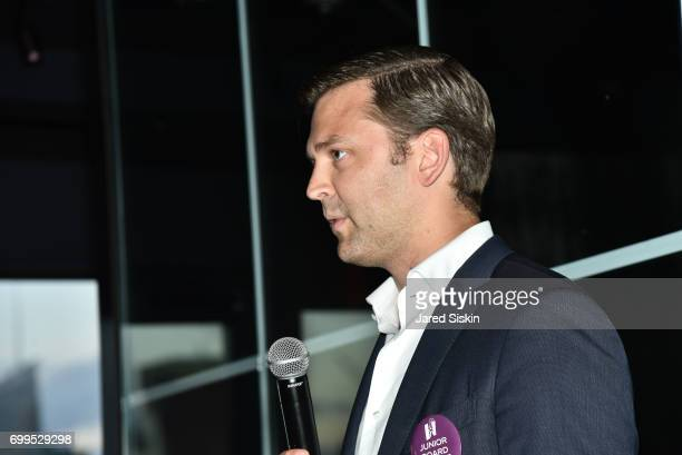 Robert KalsowRamos attends The Junior Board of The TEAK Fellowship Presents A Midsummer Night at PhD Lounge at the Dream Downtown New York on June 21...