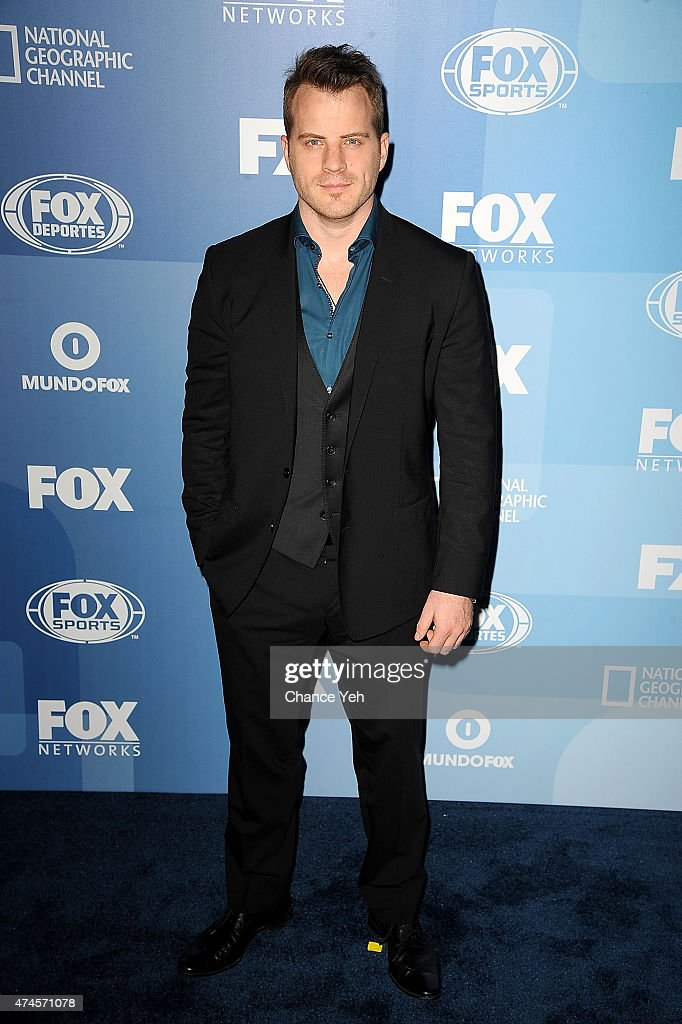 Robert Kazinsky attends 2015 FOX Programming Presentation at Wollman Rink Central Park on May 11 2015 in New York City
