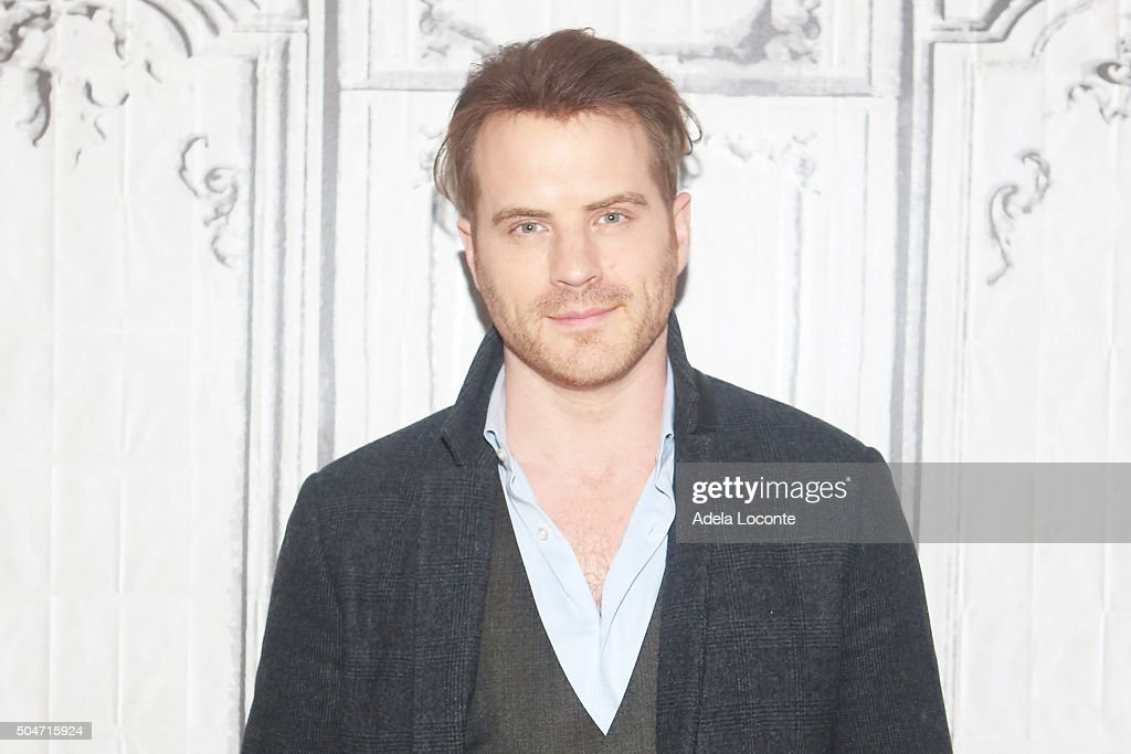 Robert Kazinsky attends his new FOX series 'Second Chance' at AOL Studios In New York on January 12 2016 in New York City