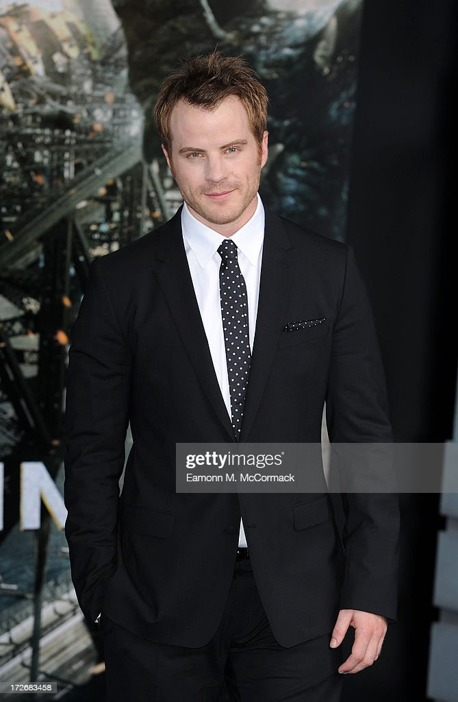 Robert Kazinsky attends the European Premiere of 'Pacific Rim' at BFI IMAX on July 4 2013 in London England