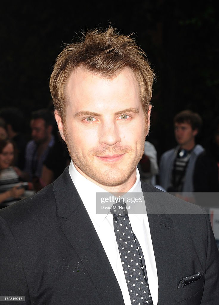 Robert Kazinsky attends the European Premiere of 'Pacific Rim' at BFI IMAX on July 4, 2013 in London, England.