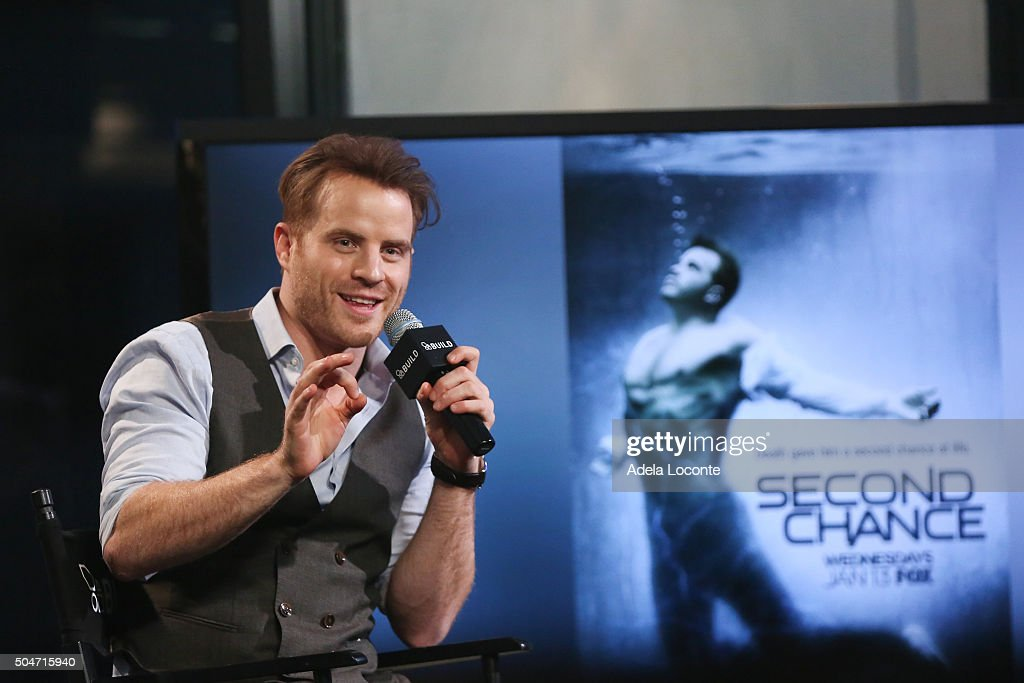 Robert Kazinsky discusses his new FOX series 'Second Chance' at AOL Studios In New York on January 12 2016 in New York City