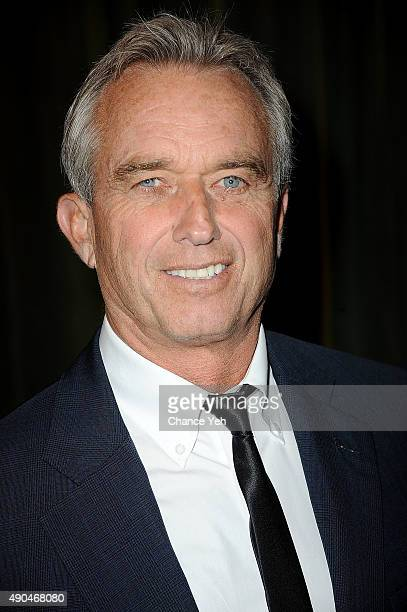Robert Kennedy Jr attends 3rd Annual Turtle Ball at The Bowery Hotel on September 28 2015 in New York City