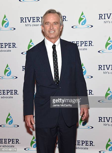 Robert Kennedy Jr attends the 2015 Riverkeeper Fishermen's Ball at Pier Sixty at Chelsea Piers on May 20 2015 in New York City
