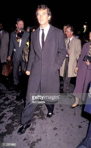 Robert Kennedy Jr during Benefit Premiere of 'A Few Good Men' for the National Resources Defense at Zeigfeld Theatre in New York City New York United...