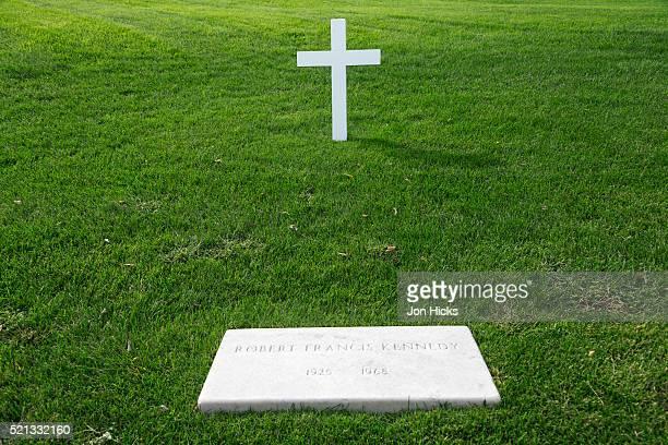Robert Kennedy's grave in Arlington National Cemetery.