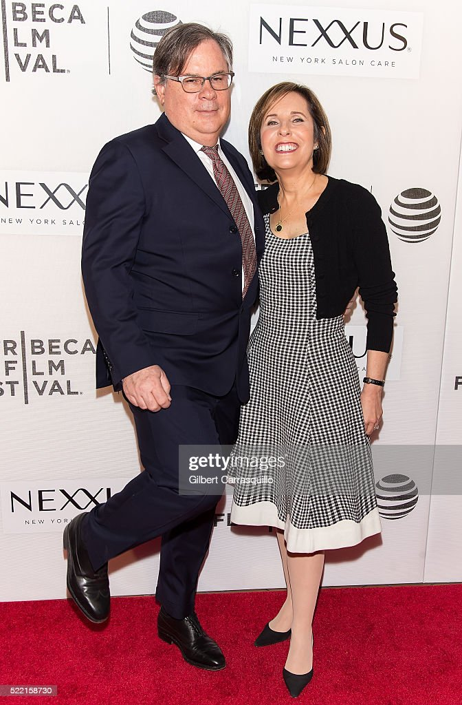 Robert King and Michelle King attend 'The Good Wife' Screening during 2016 Tribeca Film Festival at John Zuccotti Theater at BMCC Tribeca Performing...