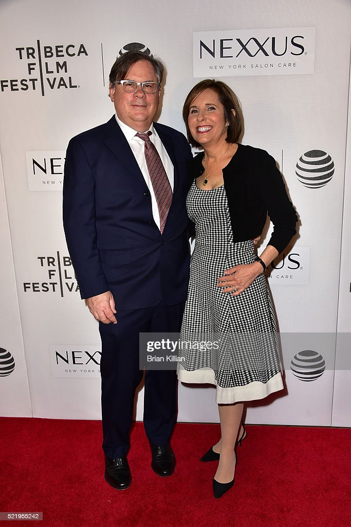 Robert King and Michelle King attend the Tribeca Tune In 'The Good Wife' 2016 Tribeca Film Festival at John Zuccotti Theater at BMCC Tribeca...