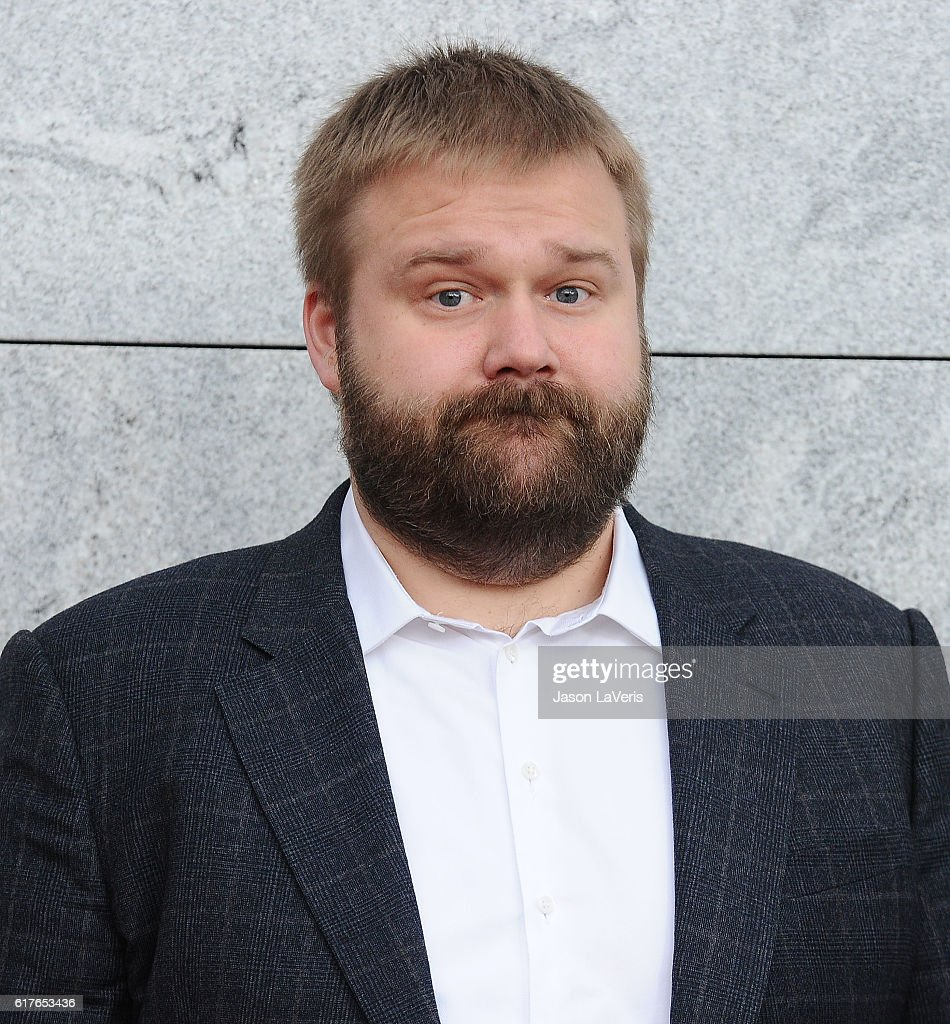 Robert Kirkman attends the live, 90-minute special edition of 'Talking Dead' at Hollywood Forever on October 23, 2016 in Hollywood, California.