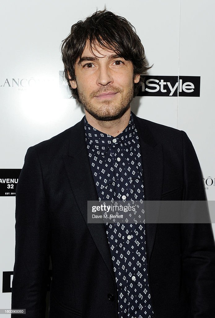 Robert Konjic arrives at the InStyle Best Of British Talent party in association with Lancome and Avenue 32 at Shoreditch House on January 30, 2013 in London, England.