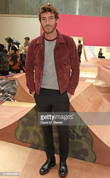 Robert Konjic attends the COACH Men's Spring 2016 Presentation at The Lindley Hall on June 13 2015 in London England