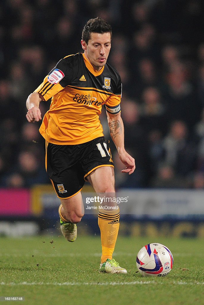 <a gi-track='captionPersonalityLinkClicked' href=/galleries/search?phrase=Robert+Koren&family=editorial&specificpeople=740564 ng-click='$event.stopPropagation()'>Robert Koren</a> of Hull City in action during the npower Championship match between Crystal Palace and Hull City at Selhurst Park on March 5, 2013 in London, England.