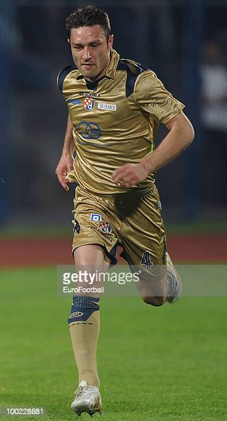 Robert Kovac of Dinamo Zagreb in action during the Croatian First League match between Cibalia and Dinamo Zagreb at Stadion HNK Cibalia on April 24...