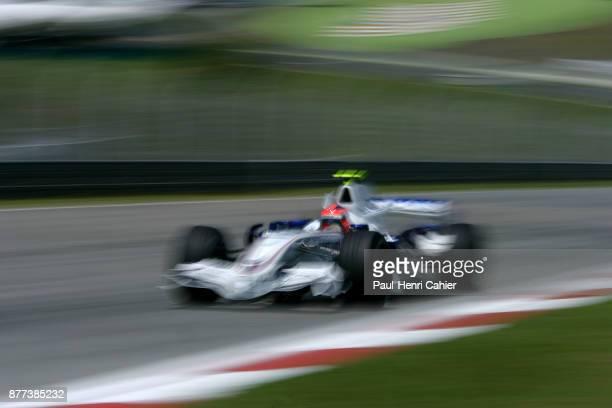 Robert Kubica BMW Sauber F107 Grand Prix of Malaysia Sepang International Circuit 08 April 2007