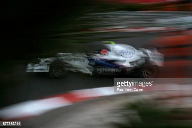 Robert Kubica BMW Sauber F107 Grand Prix of Monaco Circuit de Monaco 27 May 2007