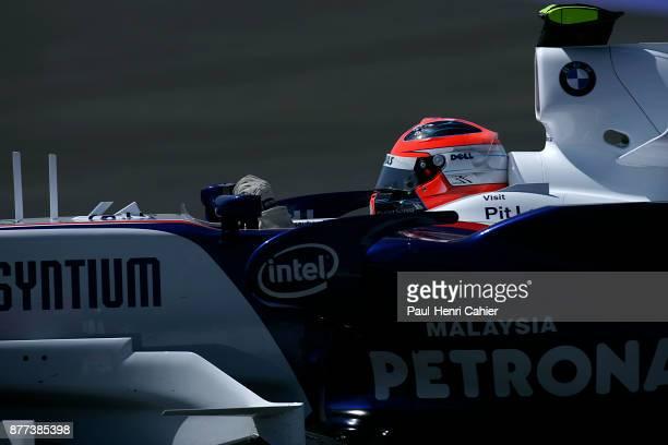 Robert Kubica BMW Sauber F107 Grand Prix of Spain Circuit de BarcelonaCatalunya 13 May 2007