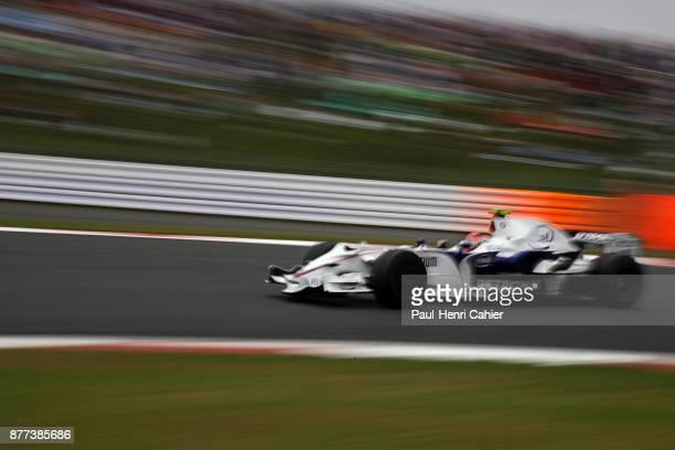 Robert Kubica BMW Sauber F108 Grand Prix of Japan Fuji Speedway 12 October 2008