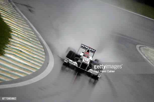 Robert Kubica BMW Sauber F109 Grand Prix of Brazil Autodromo Jose Carlos Pace Interlagos Sao Paolo 18 October 2009
