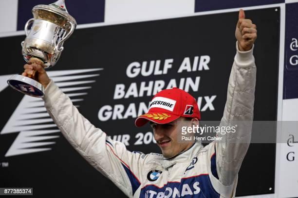 Robert Kubica Grand Prix of Bahrain Bahrain International Circuit 06 April 2008