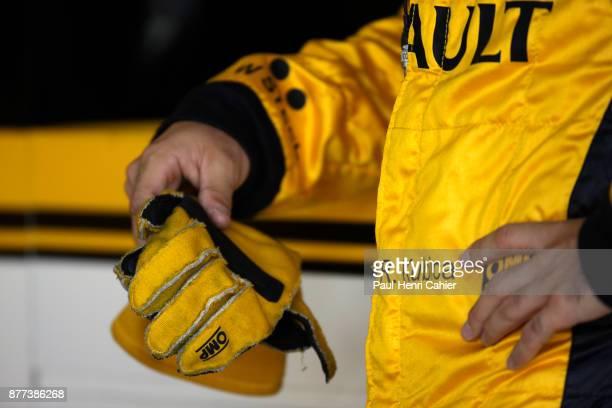 Robert Kubica Grand Prix of Great Britain Silverstone Circuit 11 July 2010 Robert Kubica with his racing gloves